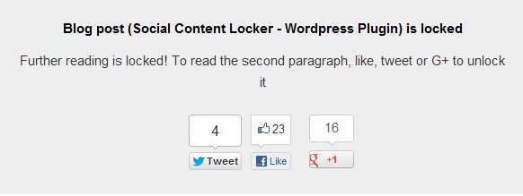 Content Locker WordPress Plugins