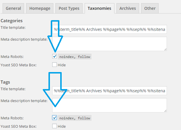 WordPress Duplicate Content Issue