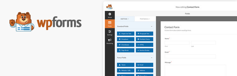 WPForms – Review of Best Form Builder WordPress Plugin