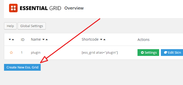 create Grid style layout in WordPress