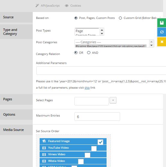 create Grid style layout in WordPress