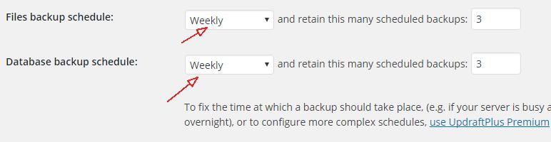 Backup WordPress website