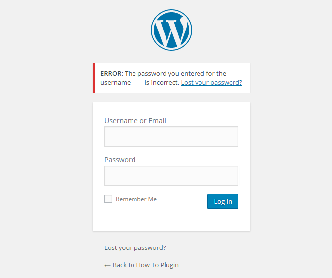 Common WordPress Problem