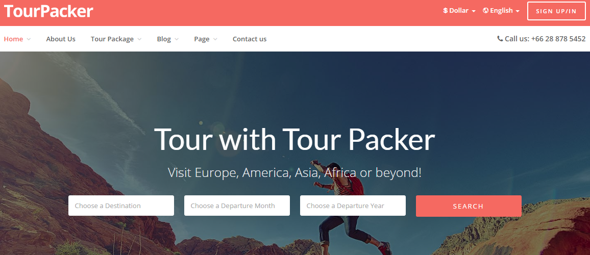 45 Best Travelling WordPress Theme for Blogs and Travel Agencies