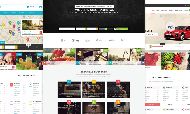 WordPress Classified Theme