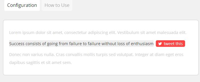 Click to Tweet WordPress Plugin
