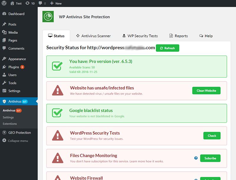 malware scan plugin