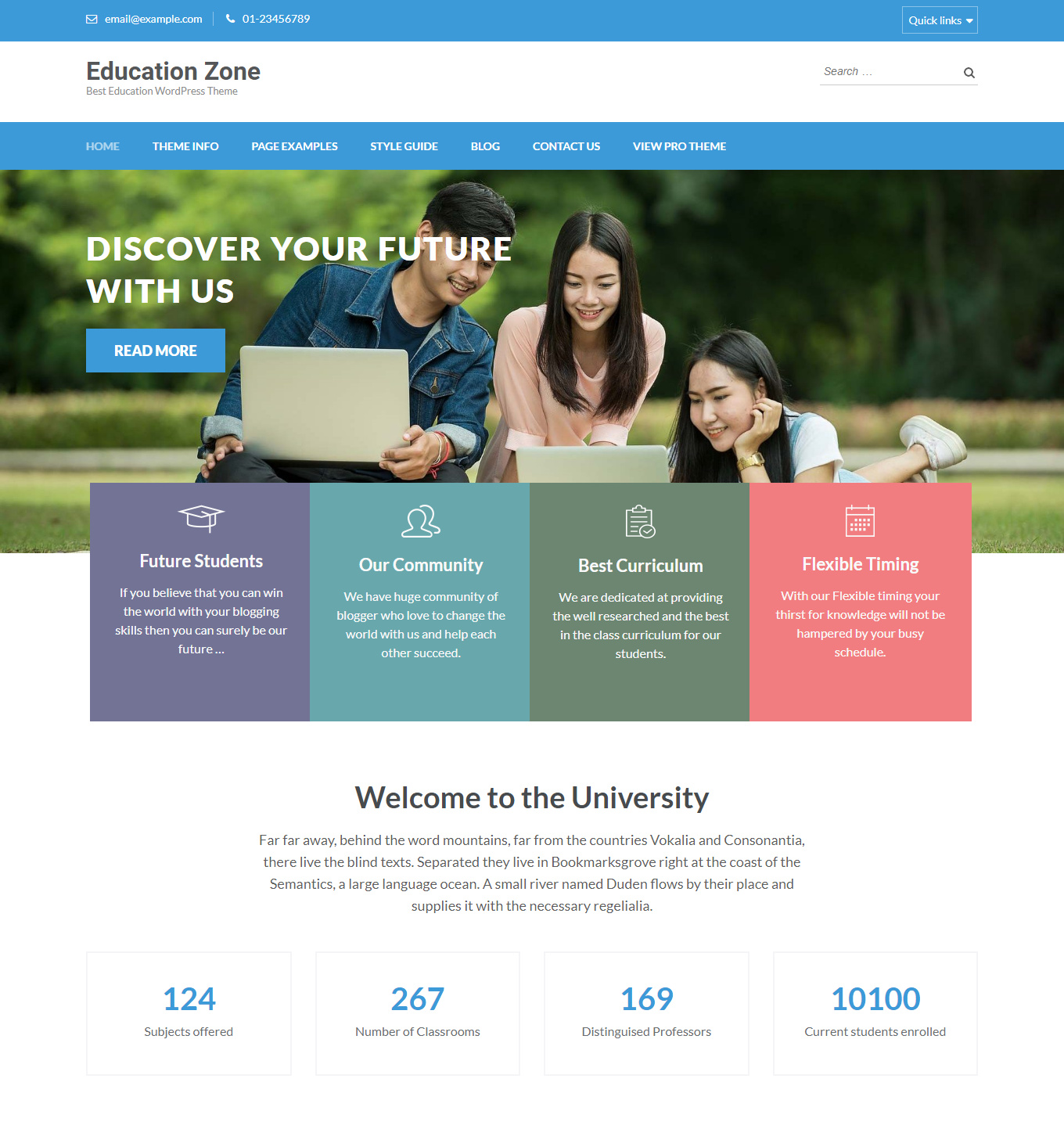 10+ Best Wordpress Education Themes Free And Premium 6