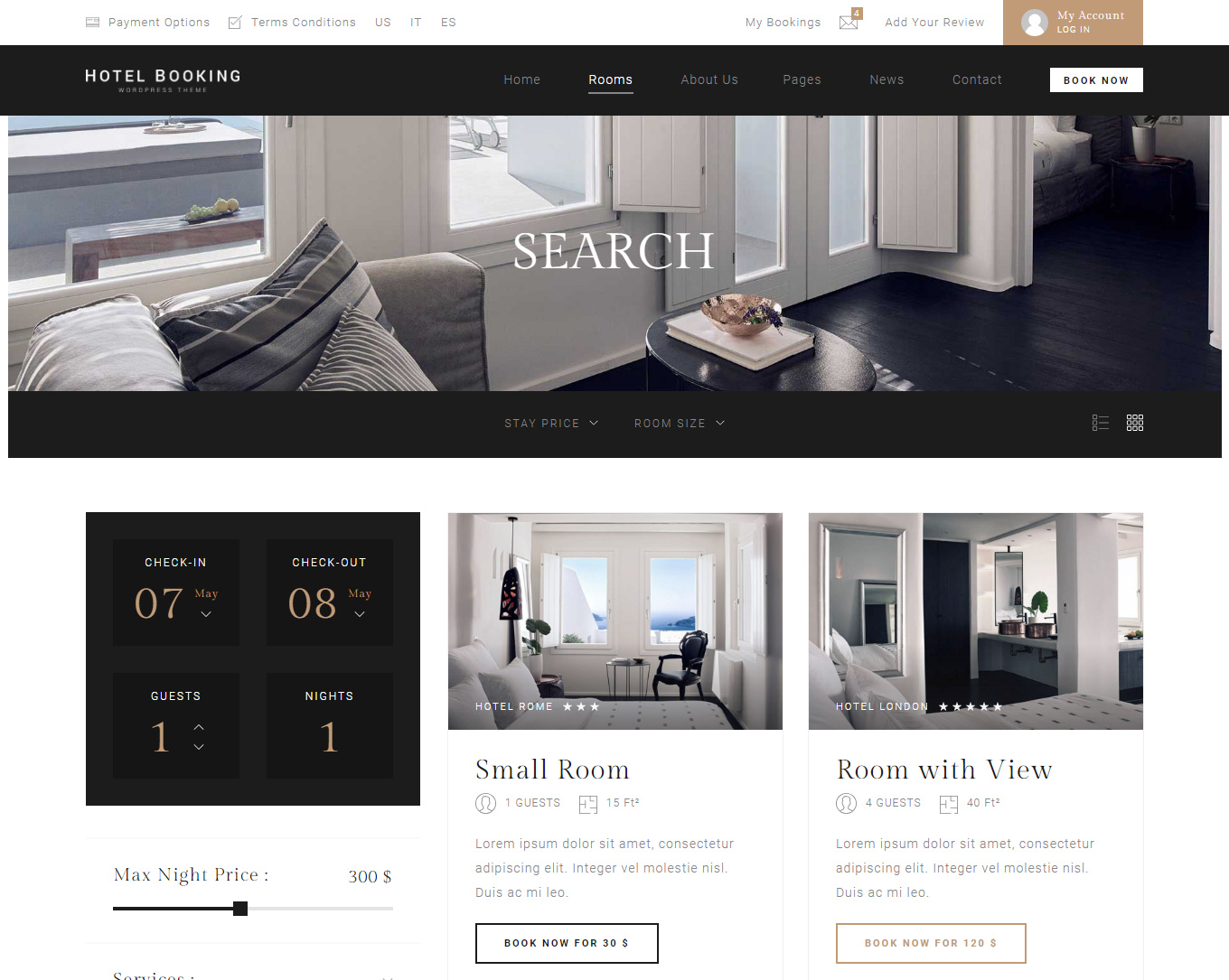 9 Best Hotel WordPress Themes For Hotel And Resorts 2
