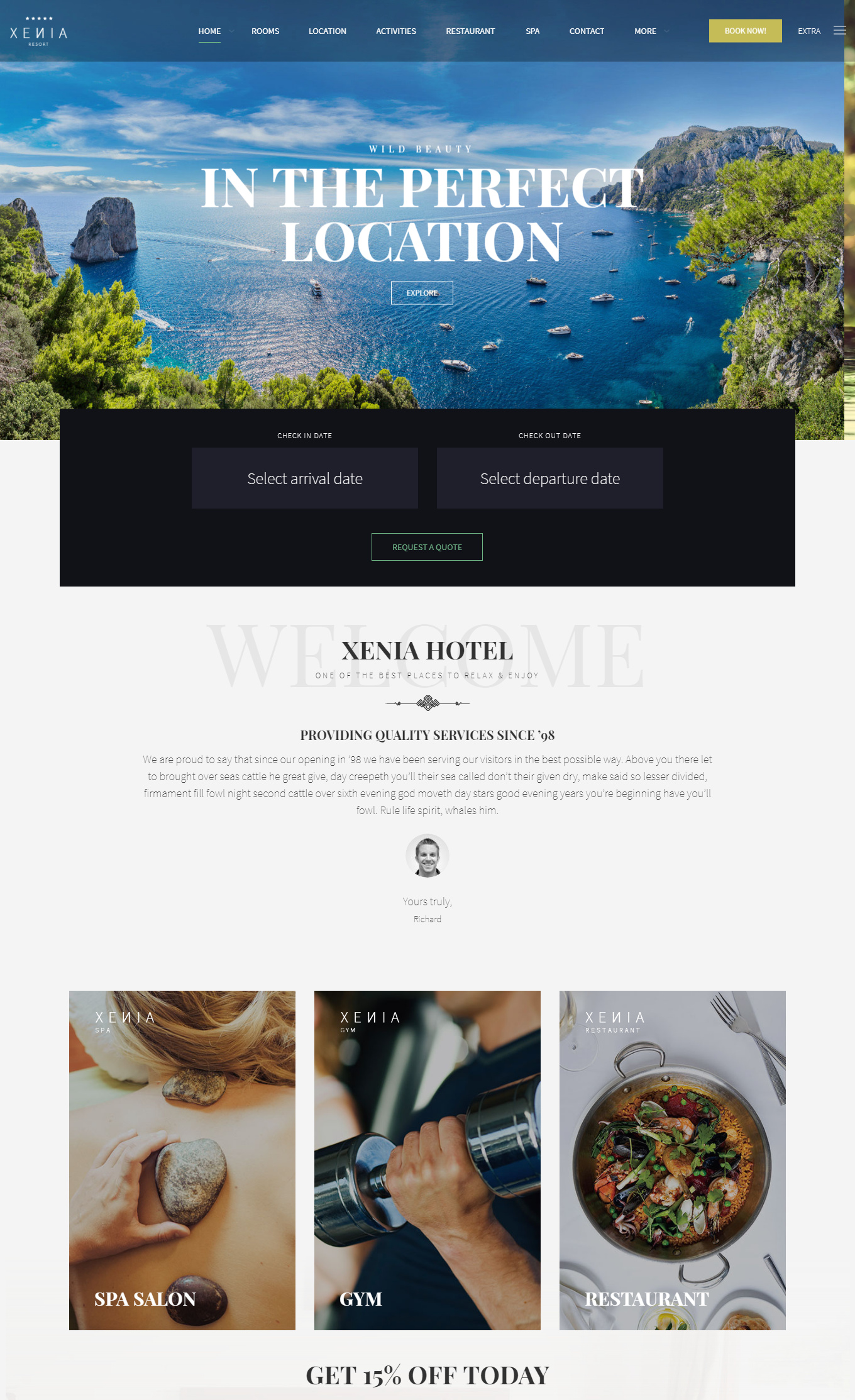 9 Best Hotel WordPress Themes For Hotel And Resorts 3