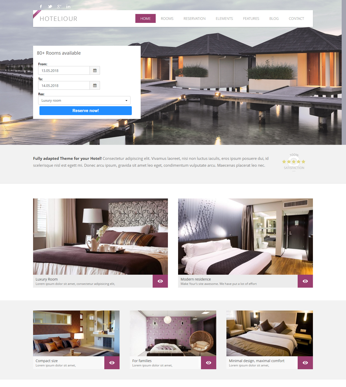 9 Best Hotel WordPress Themes For Hotel And Resorts 4