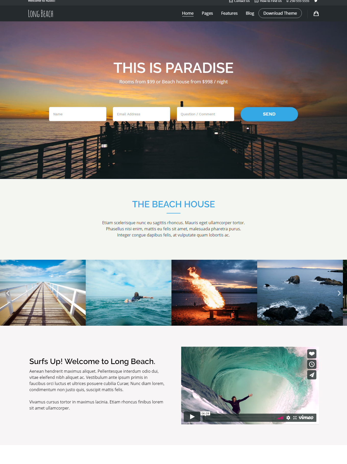 9 Best Hotel WordPress Themes For Hotel And Resorts 5