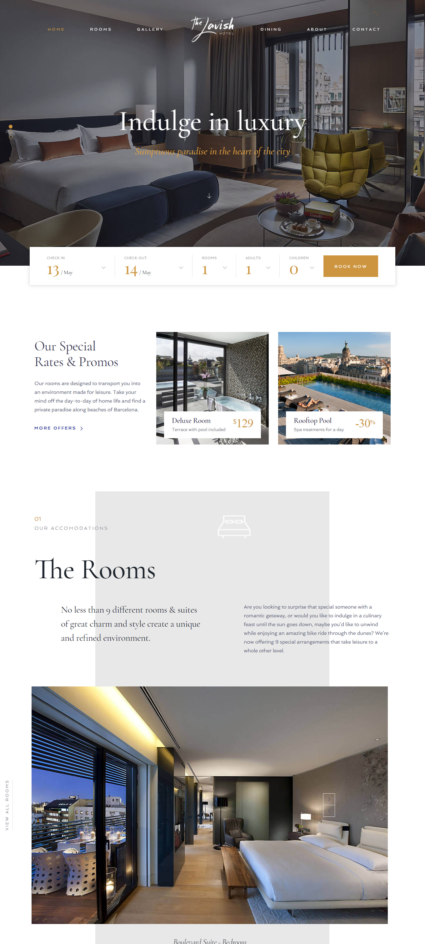 9 Best Hotel WordPress Themes For Hotel And Resorts 6