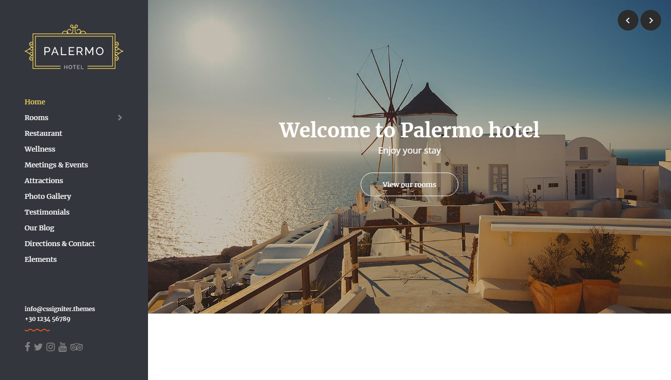 9 Best Hotel WordPress Themes For Hotel And Resorts 1