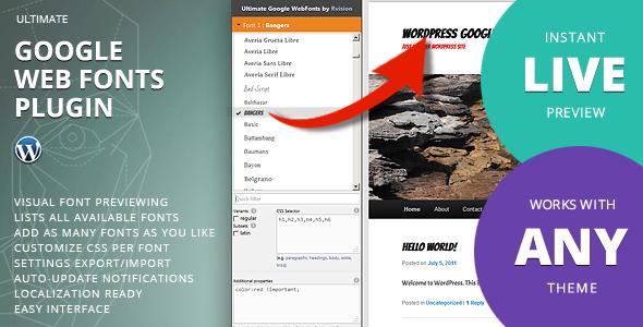 5 Best Typography Plugins for WordPress Website 2